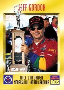 Jeff Gordon 1997 Sports Illustrated for Kids card