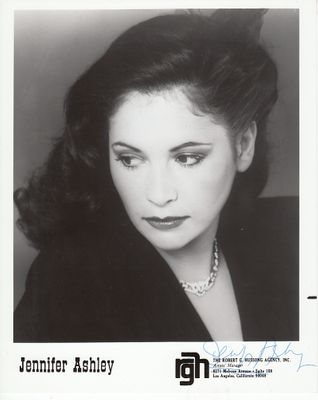 Jennifer Ashley autographed 8x10 publicity photo