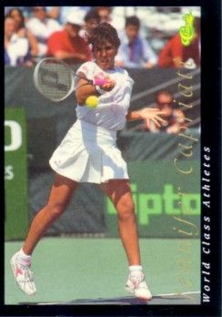 Jennifer Capriati 1992 Classic World Class Athletes tennis card