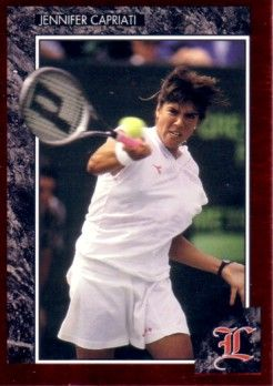 Jennifer Capriati 1992 Legends tennis card