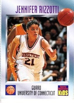 Jennifer Rizzotti UConn Huskies 1996 Sports Illustrated for Kids card