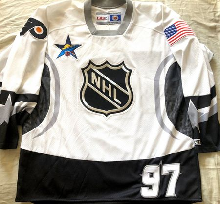 Jeremy Roenick 2003 NHL All-Star Game Philadelphia Flyers authentic CCM stitched jersey NEW