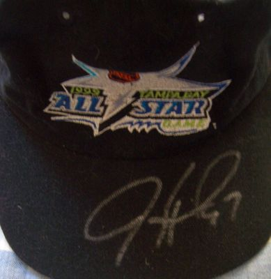 Jeremy Roenick autographed 1999 NHL All-Star Game cap or hat