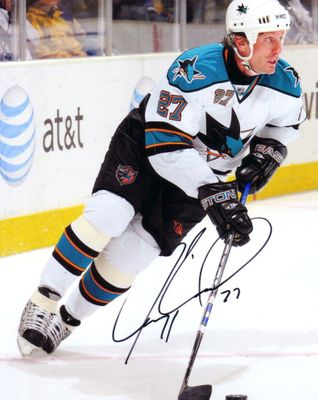 Jeremy Roenick autographed San Jose Sharks 8x10 photo