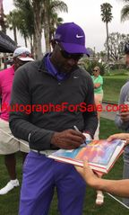 Jerry Rice autographed Super Bowl 23 program with exact proof photo