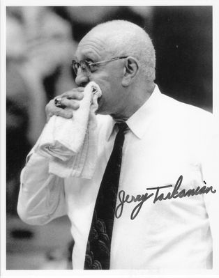 Jerry Tarkanian autographed UNLV 8x10 photo
