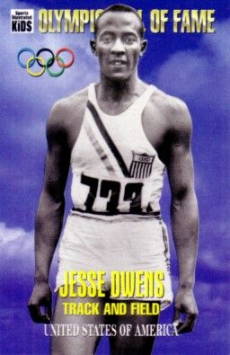 Jesse Owens Olympic Hall of Fame 1995 Sports Illustrated for Kids card