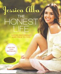 Jessica Alba autographed The Honest Life softcover book