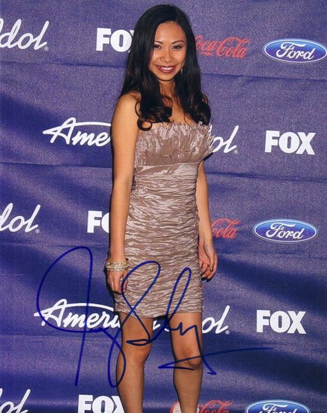 Jessica Sanchez autographed 2012 American Idol 8x10 photo