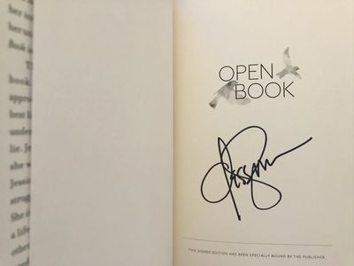Jessica Simpson autographed Open Book hardcover signed first edition