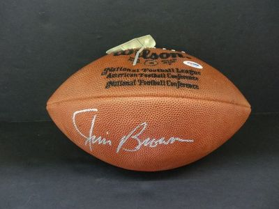 Jim Brown autographed Wilson NFL game model football (PSA/DNA)