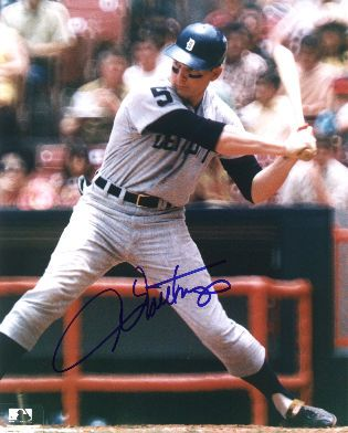 Jim Northrup autographed Detroit Tigers 8x10 photo