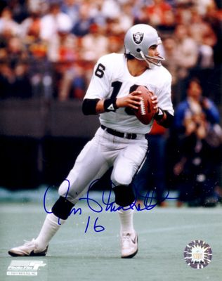 Jim Plunkett autographed Oakland Raiders 8x10 photo