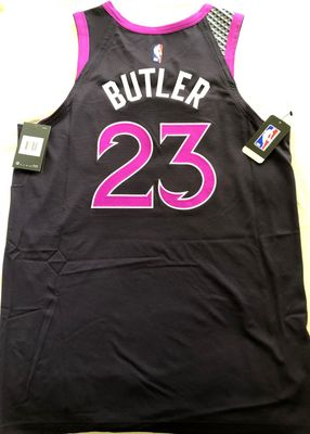 Jimmy Butler Minnesota Timberwolves authentic Nike 2018-19 City Edition Purple Reign game model jersey NEW WITH TAGS