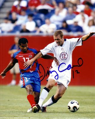 Jimmy Conrad autographed U.S. Soccer 8x10 photo