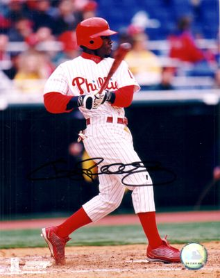 Jimmy Rollins autographed Philadelphia Phillies 8x10 photo