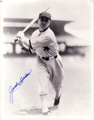 Jocko Conlan autographed Chicago White Sox 8x10 photo