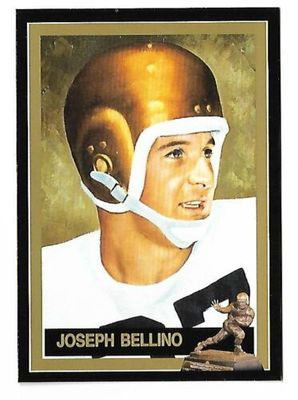 Joe Bellino Navy 1960 Heisman Trophy winner card