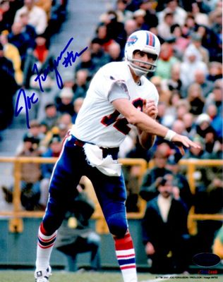 Joe Ferguson autographed Buffalo Bills 8x10 photo