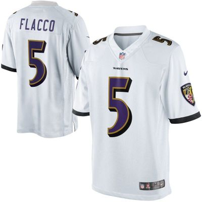 Joe Flacco Baltimore Ravens authentic Nike Game On Field white 2XL jersey NEW WITH TAGS