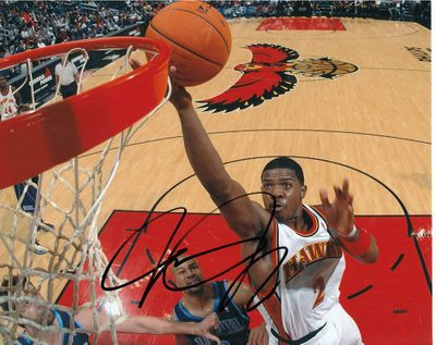 Joe Johnson autographed Atlanta Hawks 8x10 photo