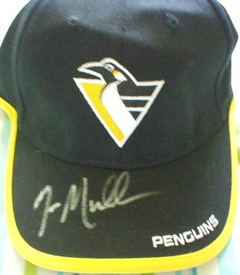 Joe Mullen autographed Pittsburgh Penguins cap or hat