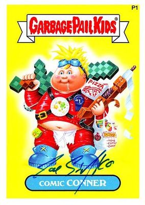 Joe Simko autographed Garbage Pail Kids 2014 Comic-Con Comic Conner promo card MINT