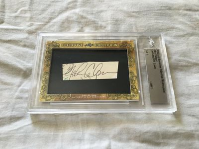 John Calipari 2018 Leaf Masterpiece Cut Signature certified autograph card 1/1 JSA