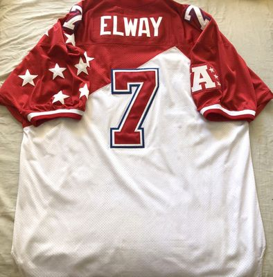 John Elway authentic Mitchell and Ness 1995 AFC Pro Bowl triple stitched jersey