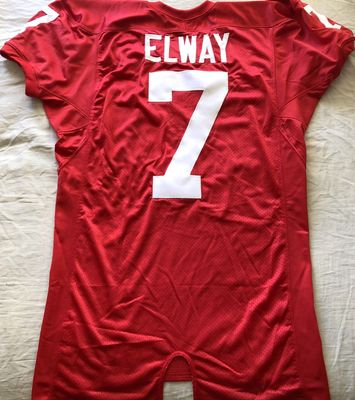 John Elway Stanford Cardinal authentic Nike stitched #7 red game cut jersey BRAND NEW