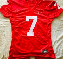 John Elway Stanford Cardinal authentic Nike stitched #7 red game cut jersey NEW