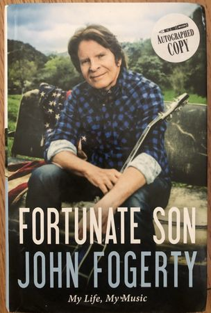 John Fogerty autographed Fortunate Son hardcover first edition book