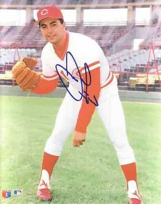 John Franco autographed Cincinnati Reds 8x10 photo