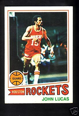 John Lucas Houston Rockets 1977-78 Topps Rookie Card