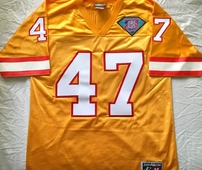 John Lynch Tampa Bay Buccaneers 1994 authentic Logo Athletic orange stitched jersey NEW