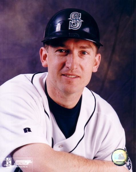 John Olerud Seattle Mariners 8x10 portrait photo