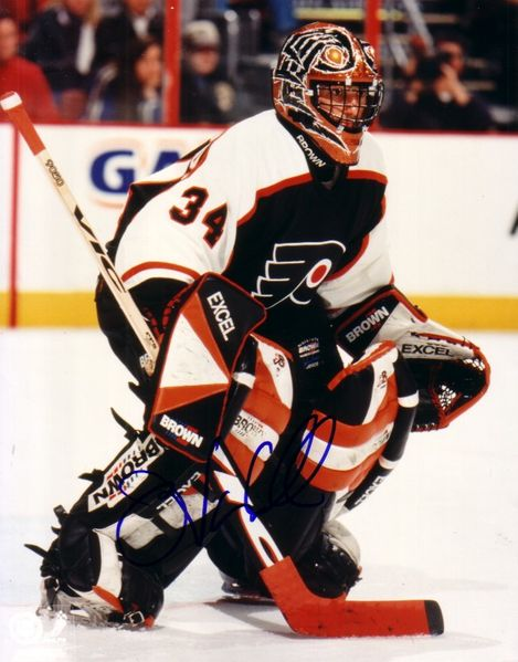 John Vanbiesbrouck autographed Philadelphia Flyers 8x10 photo