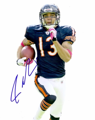Johnny Knox autographed Chicago Bears 8x10 photo