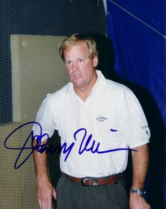 Johnny Miller autographed 8x10 golf photo