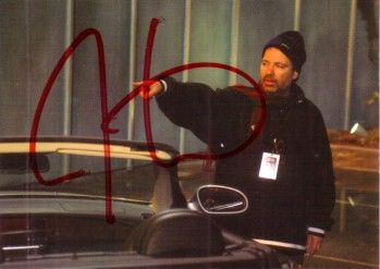 Jonathan Mostow certified autograph Terminator 3 Rise of the Machines 2003 Comic Images card