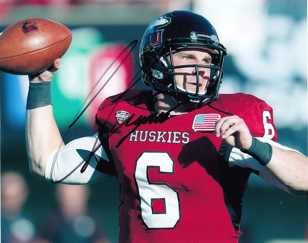 Jordan Lynch autographed Northern Illinois Huskies 8x10 photo