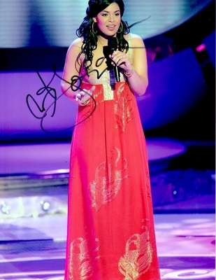 Jordin Sparks autographed 2007 American Idol 8x11 photo