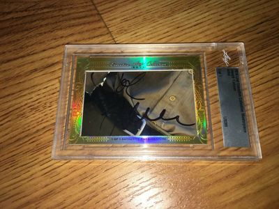 Joseph Fiennes 2016 Leaf Masterpiece Cut Signature certified autograph card 1/1 JSA