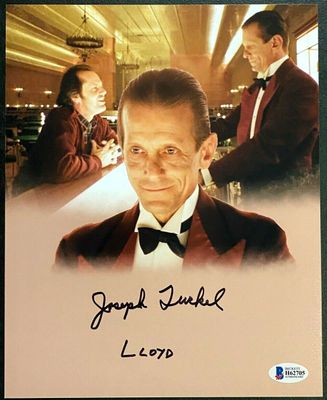 Joseph Turkel autographed The Shining 8x10 movie photo inscribed Lloyd (BAS authenticated)
