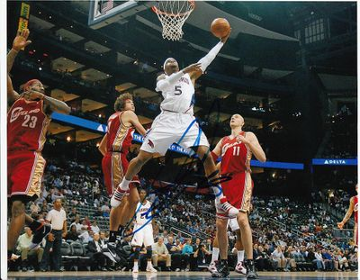 Josh Smith autographed Atlanta Hawks 8x10 photo
