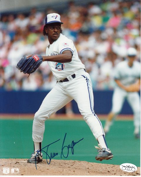 Juan Guzman autographed Toronto Blue Jays 8x10 photo (JSA)
