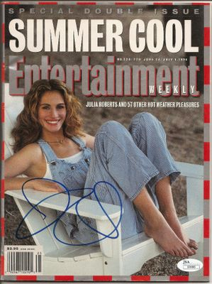 Julia Roberts autographed 1994 Entertainment Weekly magazine (JSA)