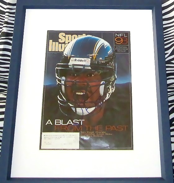check out d3027 073f2 Junior Seau autographed San Diego Chargers 1993 Sports ...