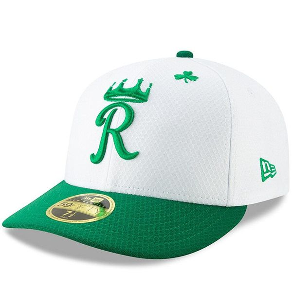 Kansas City Royals 2019 St. Patrick's Day authentic New Era 59FIFTY fitted game model cap or hat NEW