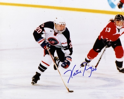 Katie King autographed 1998 USA Women's Hockey Team 8x10 photo